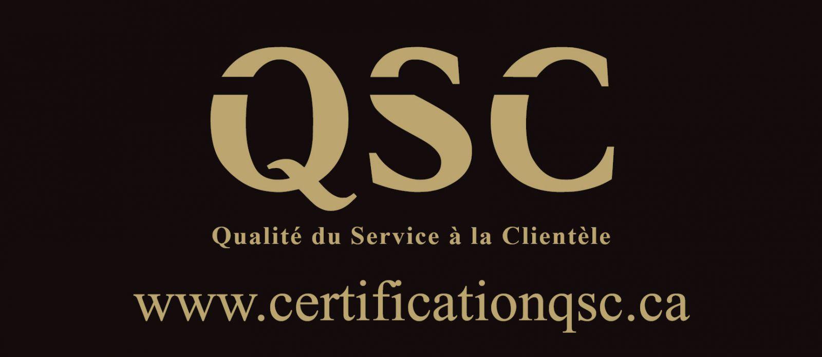Certification QSC